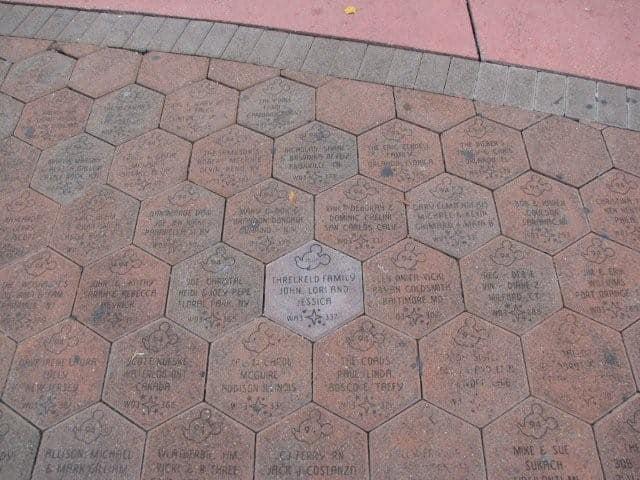 Walk Around the World Bricks to be removed around the Magic Kingdom and TTC