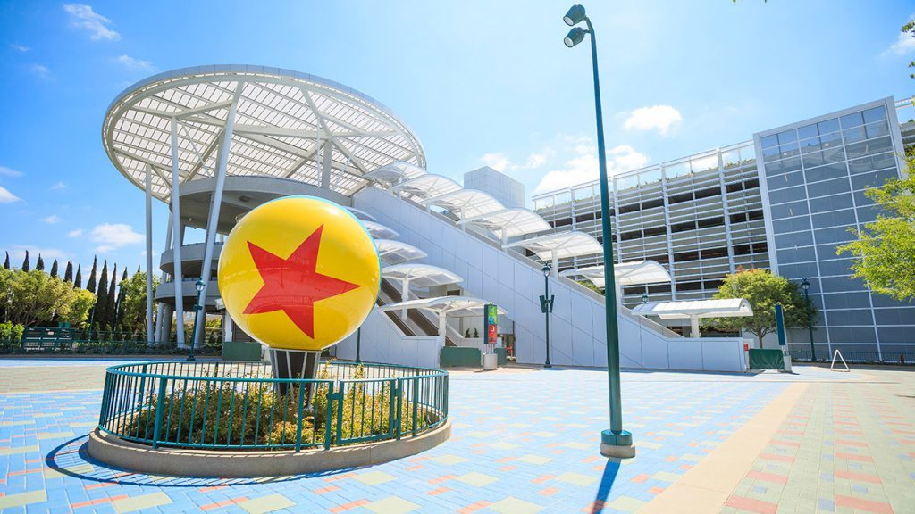 Pixar Pals Parking Structure Opens at Disneyland Resort June 30